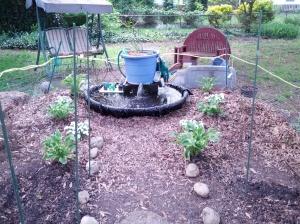 2015 Aquaponic Pond - Garden